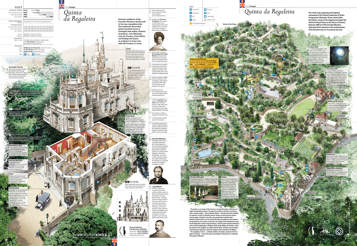 Portugal and quinta da regularia stefan poag for Jardines quinta da regaleira