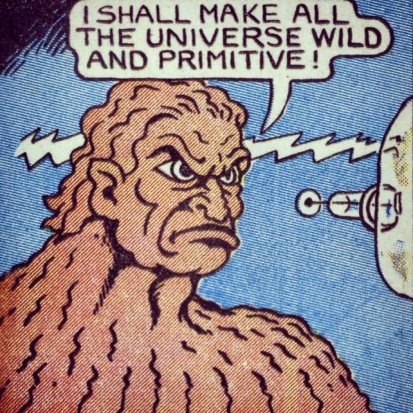 wild and primitive