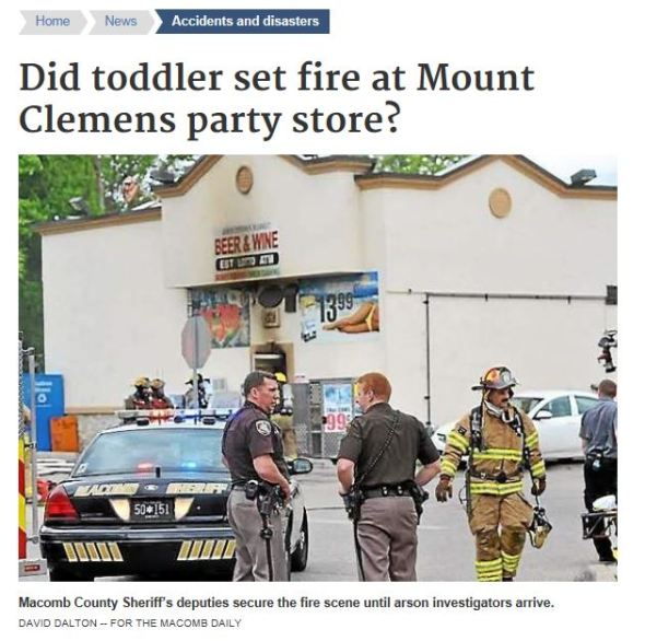 party store fire