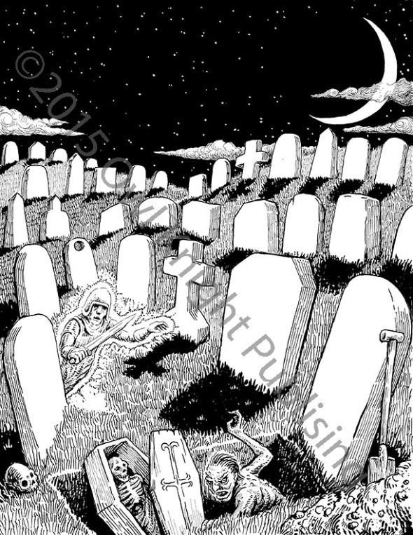 tombstones copyright